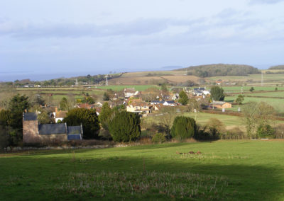 Holford Viewed from Stowey Lane