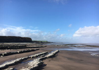 Kilve Beach from the East