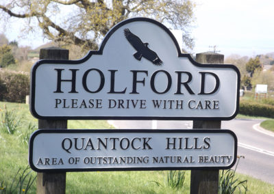 Holford and surroundings